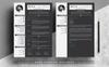 Szablon resume Bill Clarke - Resume with Cover Letter #81627 Duży zrzut ekranu