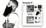 Hermes Accessories - Ecommerce PSD Template