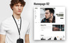 Hermes Accessories - Ecommerce PSD Template Big Screenshot