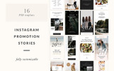 Instagram Stories Templates PSD Template