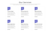 Helen - One Page Parallax Landing Page Template