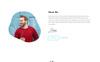 Ellora - Personal Resume & Portfolio Landing Page Template Big Screenshot