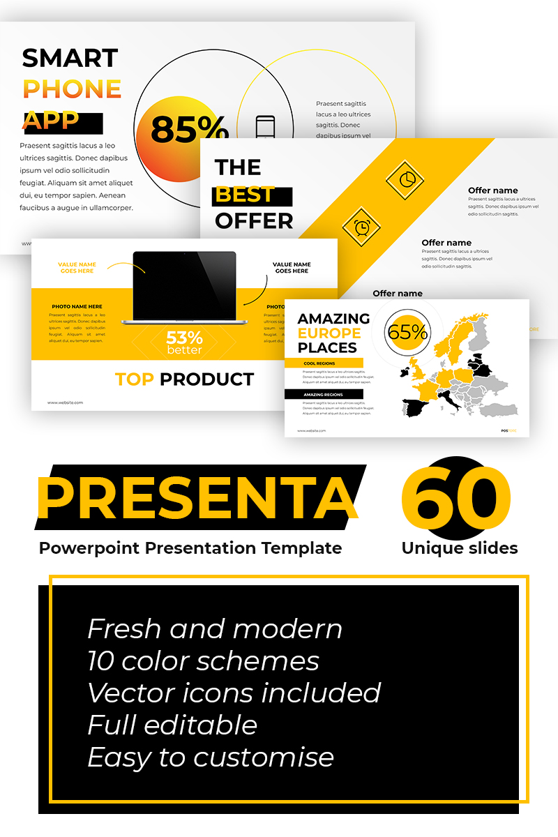 Postore Business Start Up Powerpoint Template 73772