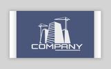 """Construction Ð¡ompany"" Responsive Logo template"