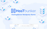 HostBunker - Hosting/Server + WHMCS WordPress Theme
