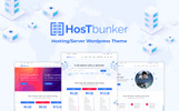 Reszponzív HostBunker - Hosting/Server + WHMCS WordPress sablon