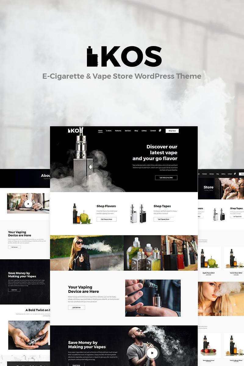 Адаптивный шаблон №79601 на тему бизнес и услуги, табачные изделия
