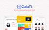 "WooCommerce Theme namens ""Galati - Tech"" Großer Screenshot"