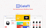 "WooCommerce Theme namens ""Galati - Tech"""