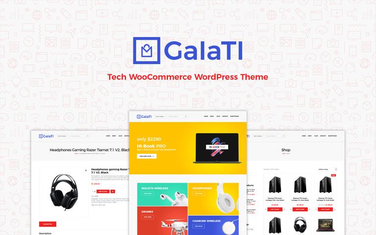 Website von galati