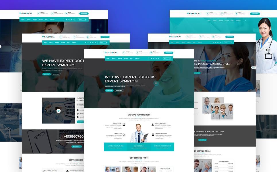 Tema de WordPress #67928 para Sitio de Odontología