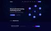 Hoarz - Hosting PSD Template Big Screenshot
