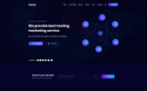 Hoarz - Hosting PSD Template