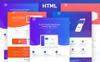 """Modello Siti Web #80408 """"Opo - Creative App"""" Screenshot grande"""