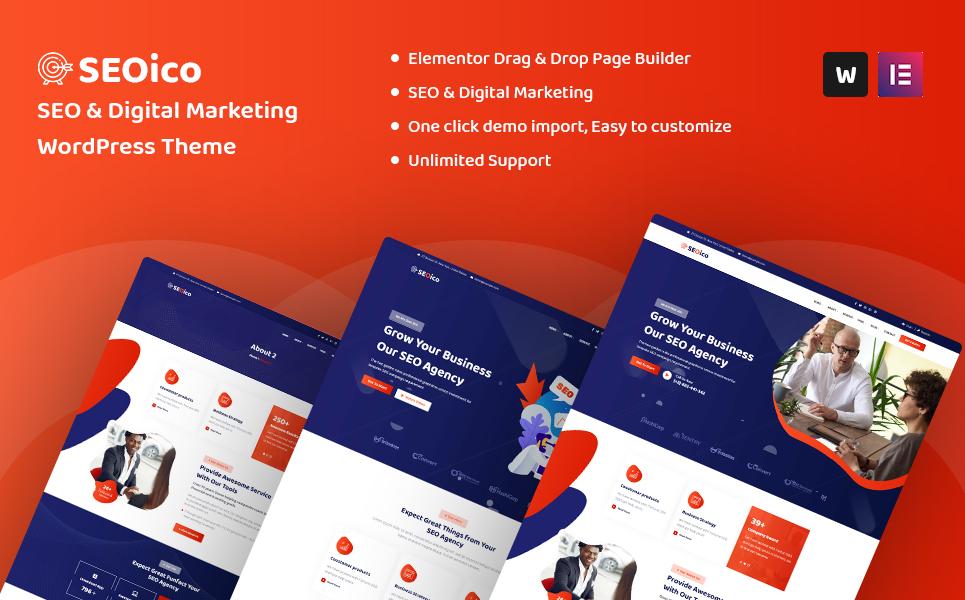 Seoico - SEO & Digital Marketing WordPress Theme