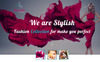 Stylish Models Photography PSD Template Big Screenshot