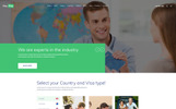 VisaPlus - Immigration and Visa Consulting Website Template