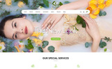 Vibrant Spa & Salon Store  - OpenCart Template