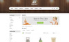 Vibrant Spa & Salon Store  - OpenCart Template Big Screenshot