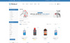 Plantilla OpenCart para Sitio de Farmacias Captura de Pantalla Grande