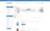 """Medical Store -"" Responsive OpenCart Template"