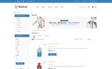 """Responzivní OpenCart šablona """"Medical Store -"""""""