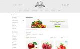 "OpenCart шаблон ""Fresh - Organic"""