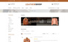 """Leather Shop"" Responsive OpenCart Template Groot  Screenshot"