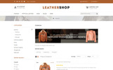 """Leather Shop"" thème OpenCart adaptatif"