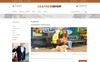 """Leather Shop"" thème OpenCart adaptatif Grande capture d'écran"