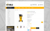 """Online Tools Store"" Responsive OpenCart Template Groot  Screenshot"