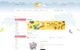 "OpenCart шаблон ""Paradise Toys Store"""
