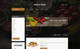 """Street Food Store"" 响应式OpenCart模板"