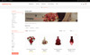 """Wedding Collection Store"" thème OpenCart adaptatif Grande capture d'écran"