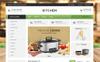 Plantilla OpenCart para Sitio de Cafeterías Captura de Pantalla Grande