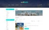 Responsivt Go World - Travel Store OpenCart-mall En stor skärmdump