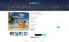 Plantilla OpenCart para Sitio de Hoteles Captura de Pantalla Grande
