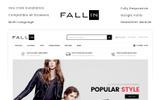 """Fallin - Fashion Store"" - адаптивний OpenCart шаблон"