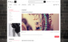 "Template OpenCart Responsive #71149 ""Fallin - Fashion Store"" Screenshot grande"