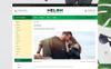 Responsivt Melon - Fashion Store OpenCart-mall En stor skärmdump