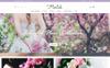 Responsivt Florich - Wedding Flowers Store OpenCart-mall En stor skärmdump