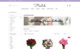 "Responzivní OpenCart šablona ""Florich - Wedding Flowers Store"""