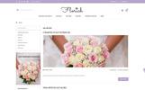 Responsivt Florich - Wedding Flowers Store OpenCart-mall