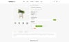 "OpenCart Vorlage namens ""Cactuplan Plant Store"" Großer Screenshot"