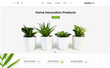 "OpenCart Vorlage namens ""Cactuplan Plant Store"""