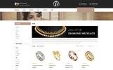 Diamond Jewelry Store OpenCart Template