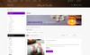 """""""Macand Candles Store"""" 响应式OpenCart模板 大的屏幕截图"""