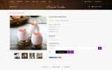 "OpenCart шаблон ""Macand Candles Store"""