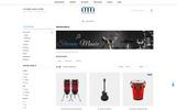 """""""Musean - Musical Store"""" Responsive OpenCart Template"""