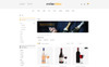 Wine Shine Store OpenCart Template Big Screenshot